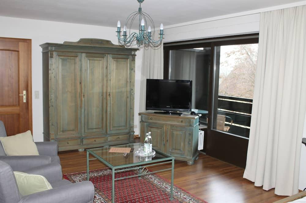 Comfort Double Room, Balcony - Living Area