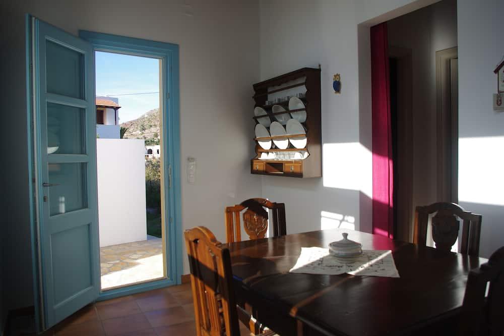 Apartment, Terrace (Aspri) - In-Room Dining