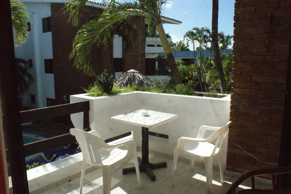Pagerinto tipo apartamentai - Balkonas