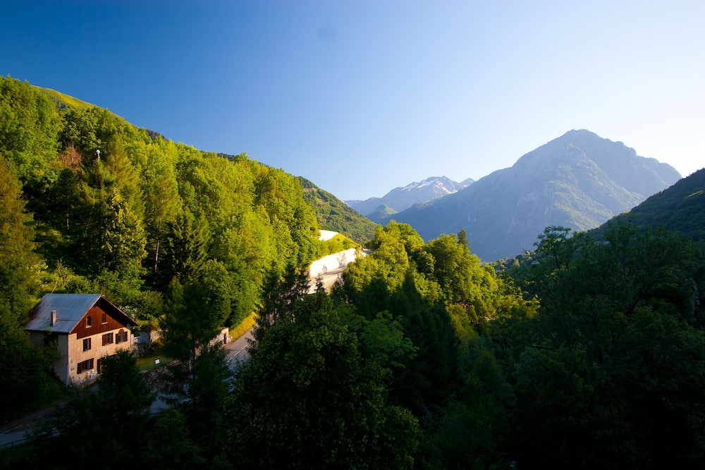 Tradicinio tipo dvivietis kambarys, 1 miegamasis, vaizdas į kalnus, prie kalno - Vaizdas į kalnus