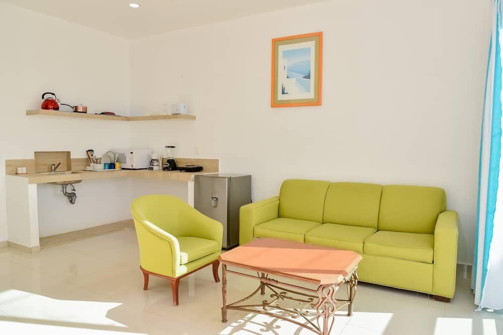 Suite Three - Obývacie priestory
