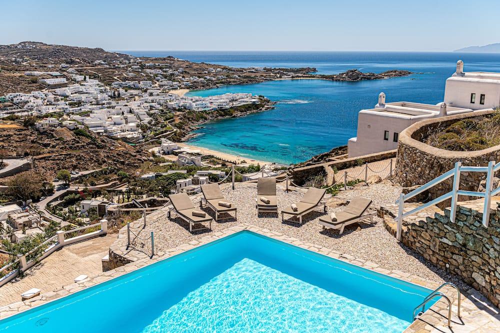 Villa de lujo, 4 habitaciones, acceso a la piscina, vista al mar (Villa Thelgo 1) - Exterior
