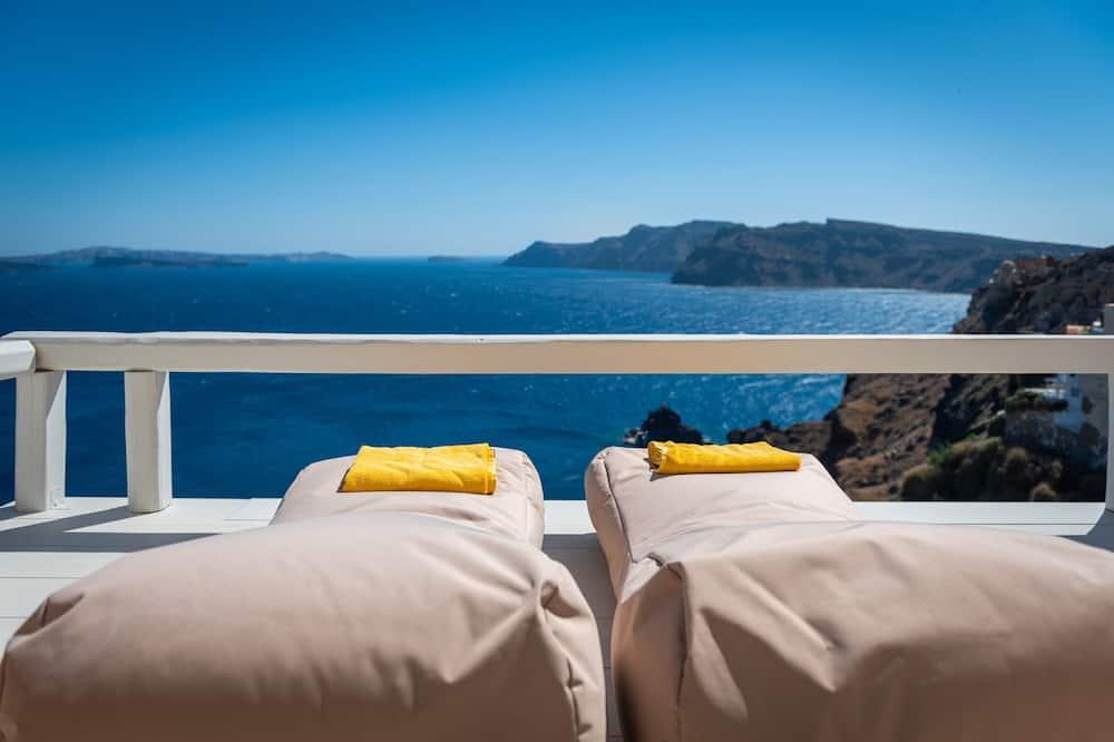 Suite exclusiva, bañera de hidromasaje, vista al mar - Balcón