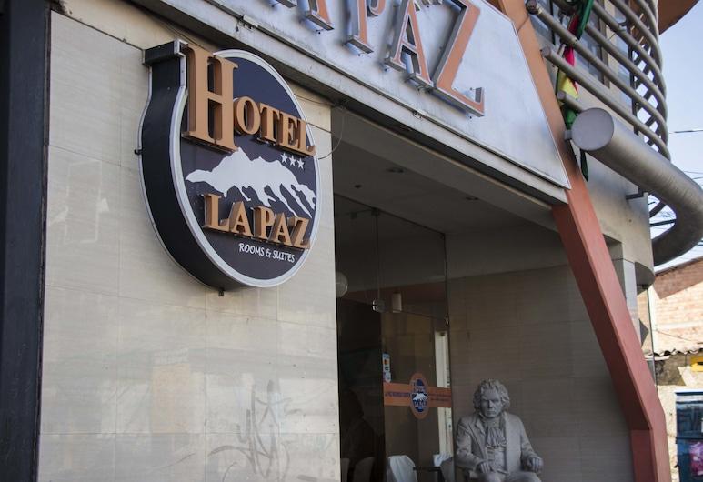 Hotel La Paz, La Paz, Hoteleingang