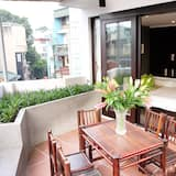 Exclusive-Villa, 1 Doppelbett, Stadtblick - Balkon