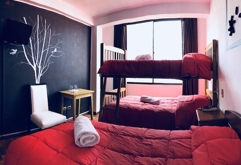 هوستل بورفينير, La Paz, غرفة ثلاثية, غرفة نزلاء