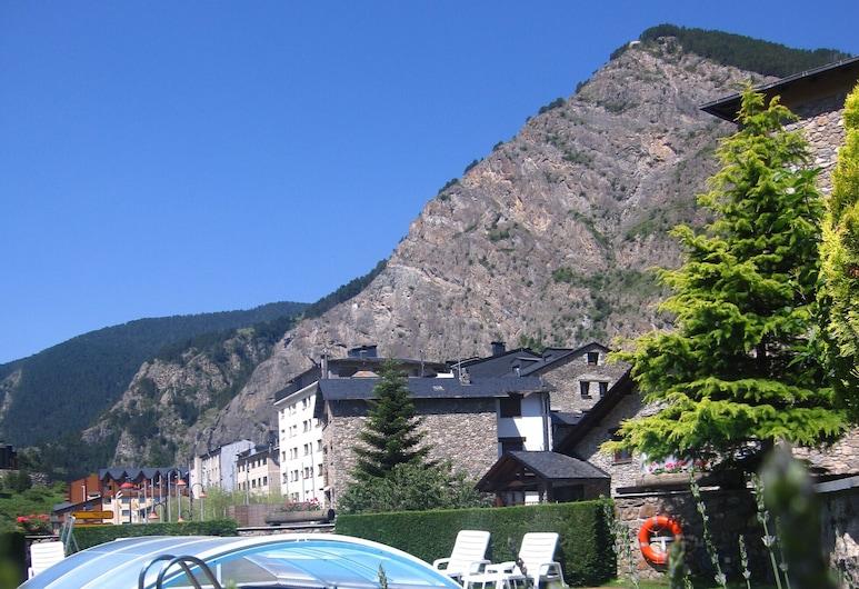 Bonavida, Andorra, Blick vom Hotel