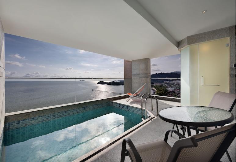 Lexis Suites Penang, George Town, Premium Pool Suite, Balcony