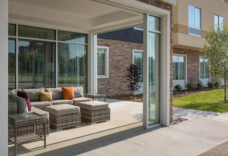 Fairfield Inn & Suites Dallas West/i-30, Dallas, Terassi/patio