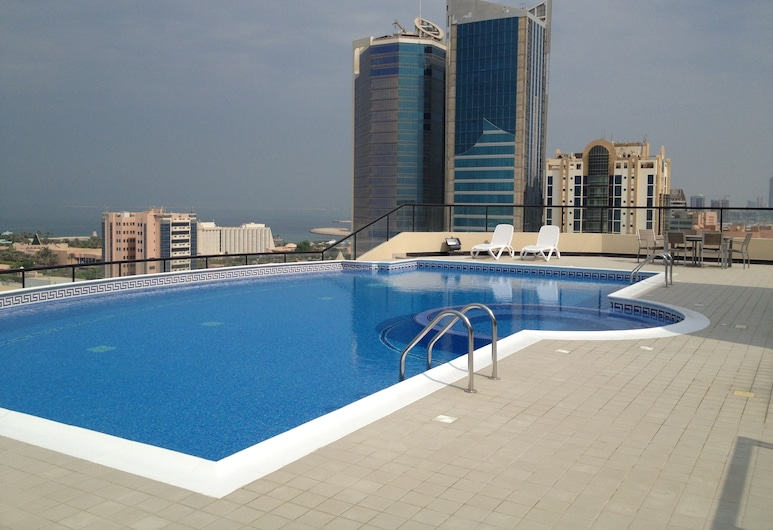 Al Manzil Residence, Manama, Piscina al aire libre