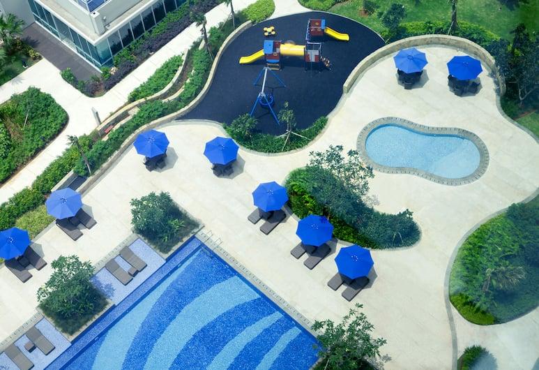 Fraser Place Setiabudi Jakarta, Jakarta, Executive Apartment, 1 Bedroom, Outdoor Pool