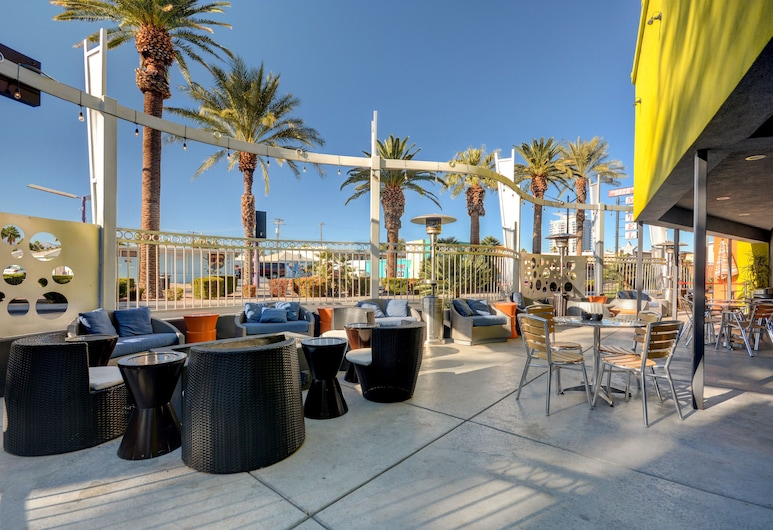 Thunderbird Hotel, Las Vegas, Terrasse/veranda