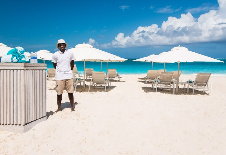 The Oasis at Grace Bay, Providenciales, Strand
