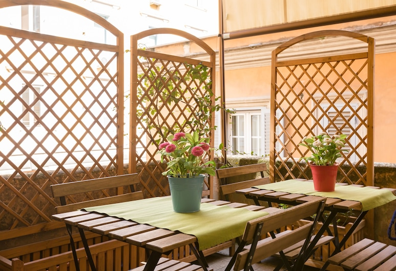 Relais Calamatta, Rome, Terrace/Patio