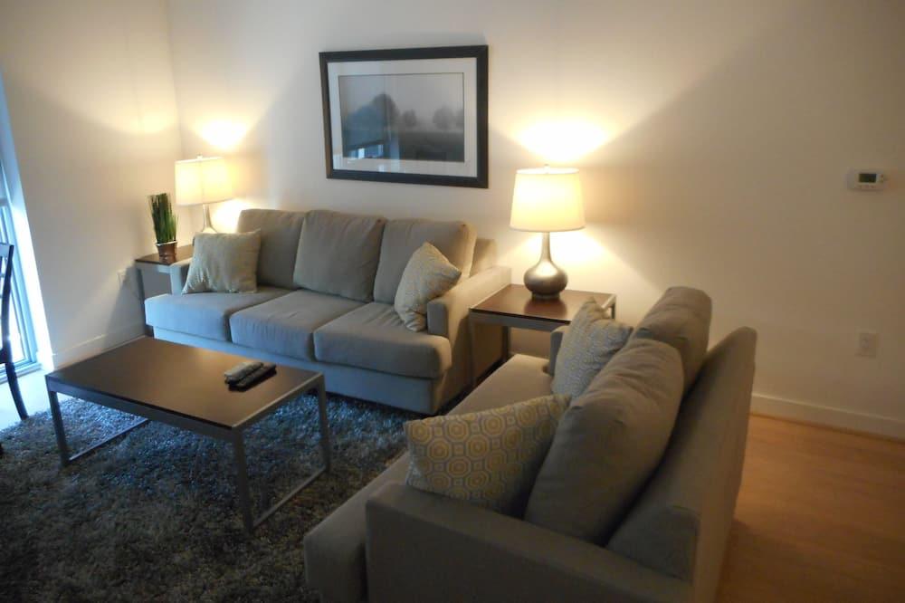 Premium Apartment, 1 Bedroom - Living Room