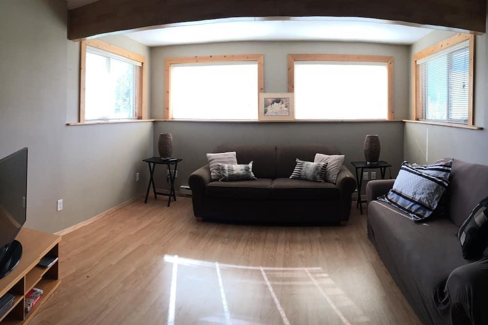 Dom, 2 sypialnie, kuchnia - Powierzchnia mieszkalna