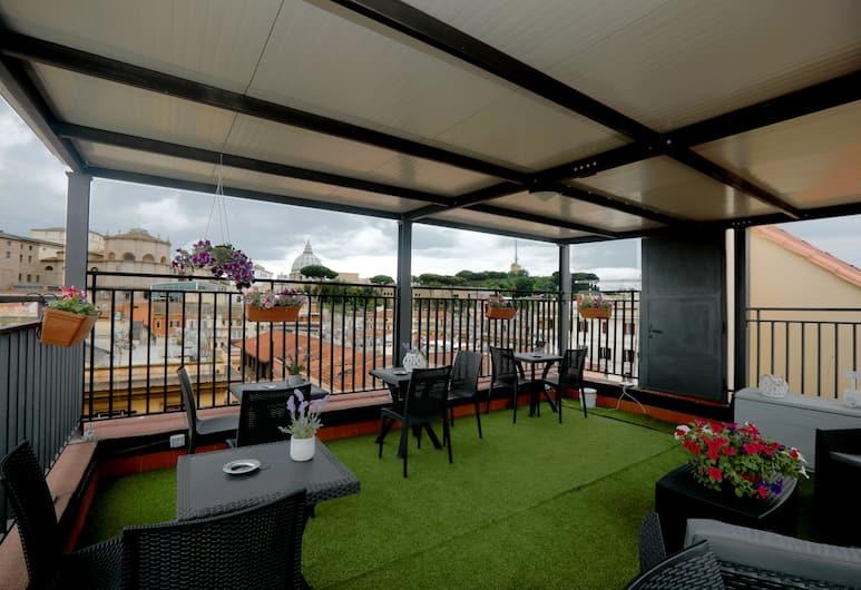 Candia Green House B&B, Rome, Eenvoudige tweepersoonskamer, 1 tweepersoonsbed, Uitzicht op de stad, Kamer