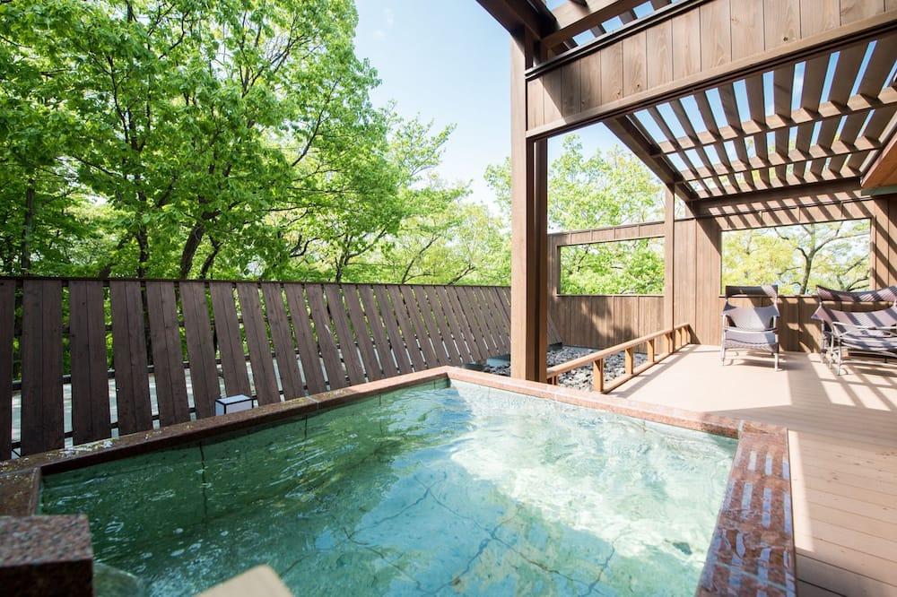 Traditional Room, Non Smoking (Japanese Western, Open-air bath) - Bilik mandi