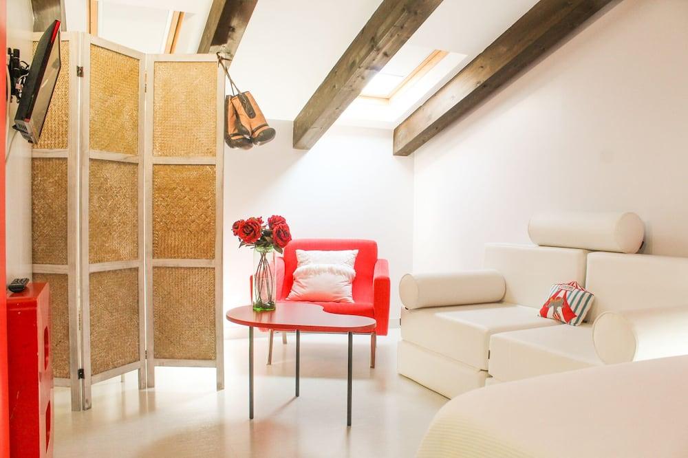 Doppelzimmer (Attic) - Wohnzimmer