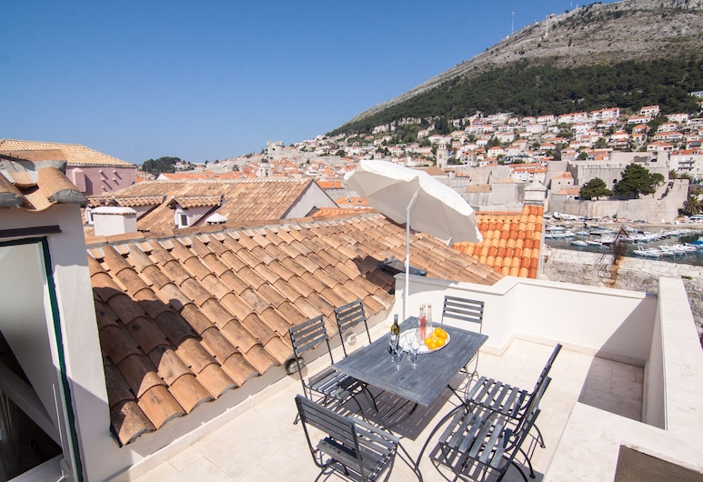 Old Town Apartments by Irundo, Dubrovnik, Delux apartment , 1 Bedroom, Terrace, DS1, Varanda