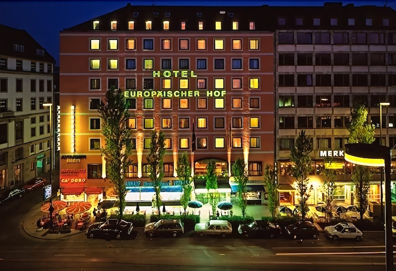 Hotel Europäischer Hof - Adults Only, Munich, Hotel Front – Evening/Night