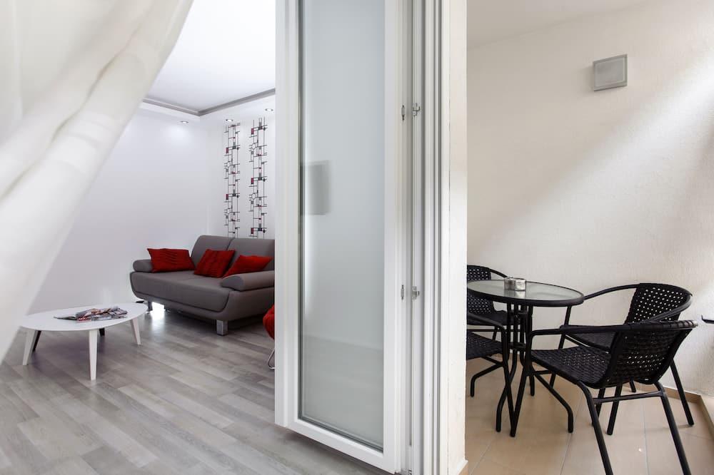 Appartement, 1 chambre, balcon - Balcon