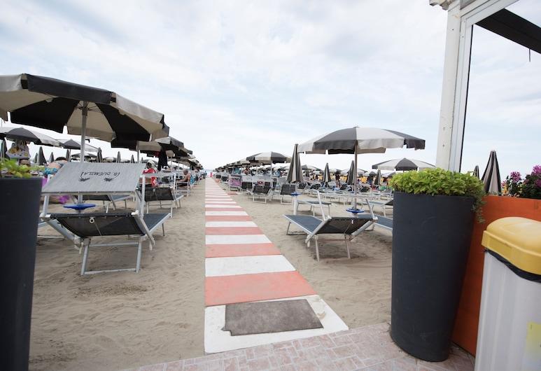 Hotel Settebello, Чезенатико, Пляж