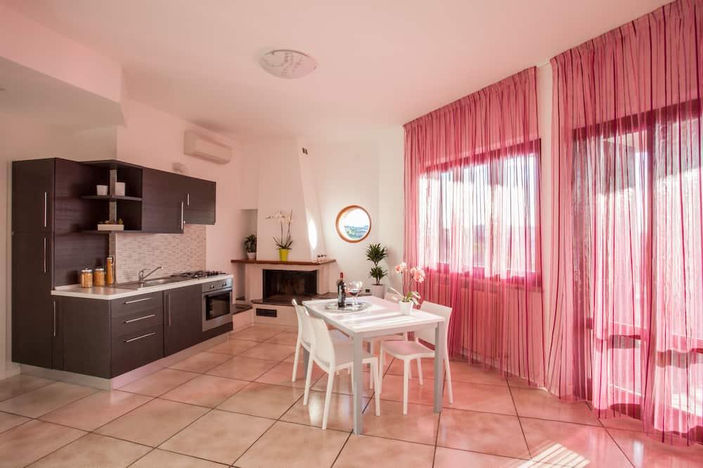 Lägenhet Panoramic - terrass - havsutsikt - Vardagsrum