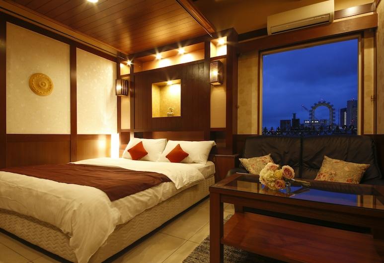 HOTEL KANADE 大阪心斎橋, 大阪市, スーペリア ダブルルーム クイーンベッド 1 台 喫煙可 (25 sqm), 部屋