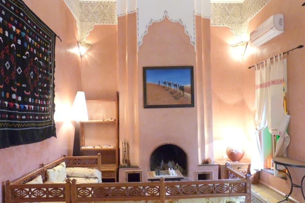 Pokój dwuosobowy typu Deluxe, balkon, widok na ogród (Djalila) - Powierzchnia mieszkalna