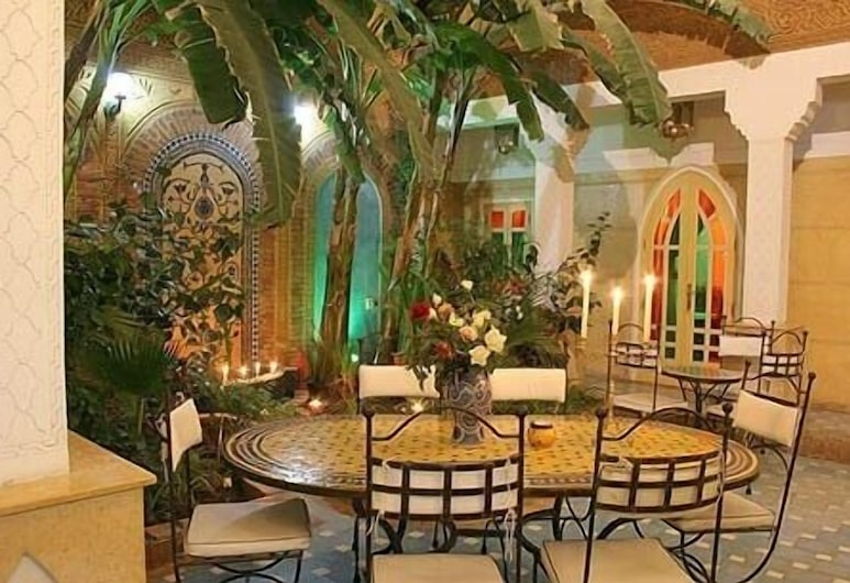 Riad Habib, Marrakech, Interior Entrance