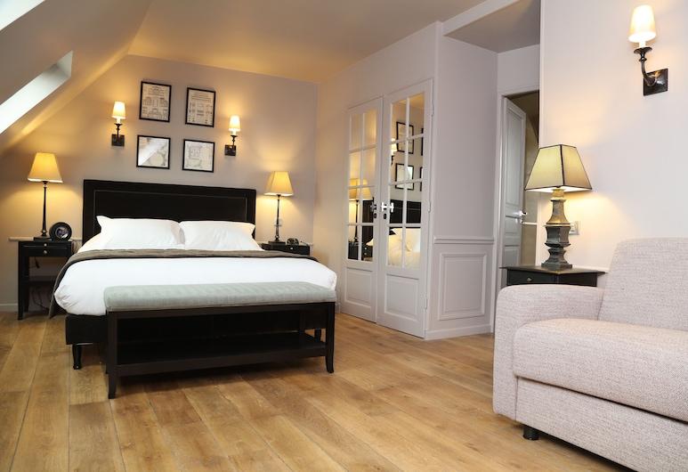 Hotel Saint-Louis Pigalle, Париж, Люкс, балкон (Top Floor), Номер