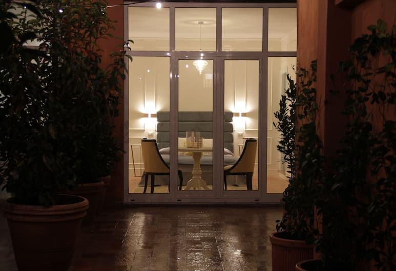 Ingrami Suites, Rome, Deluxe tweepersoonskamer, terras, Terras