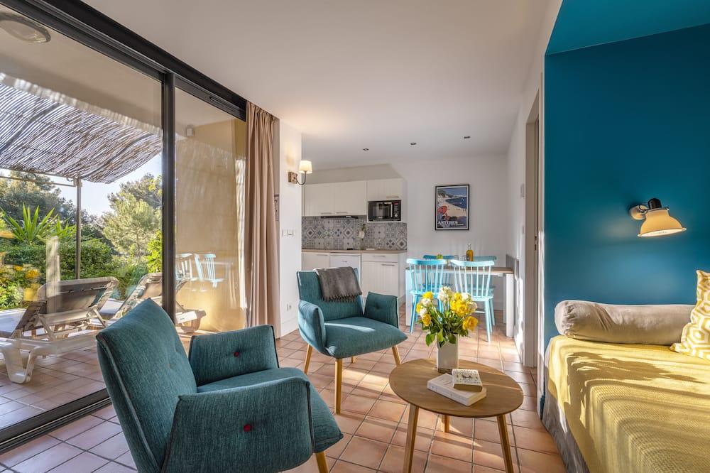Апартаменти, з видом на сад, перший поверх (2/4 Persons) - Житлова площа