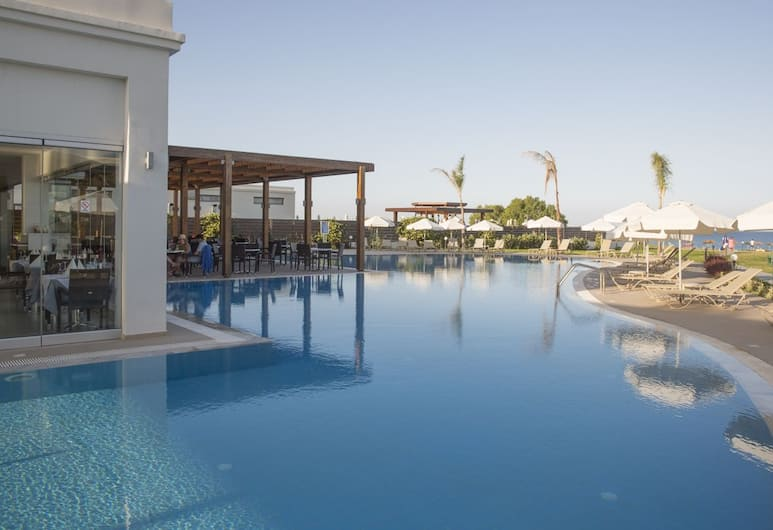 lti Asterias Beach Resort - All Inclusive, Rodosz, Medence