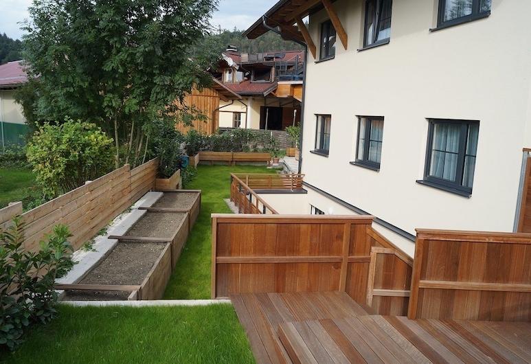 Villa Karin, Adnet, Apartamento clásico, 2 habitaciones (Abendrot), Terraza o patio