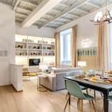 Departamento, 3 habitaciones (Via Della Vite 7 LIFT) - Sala de estar