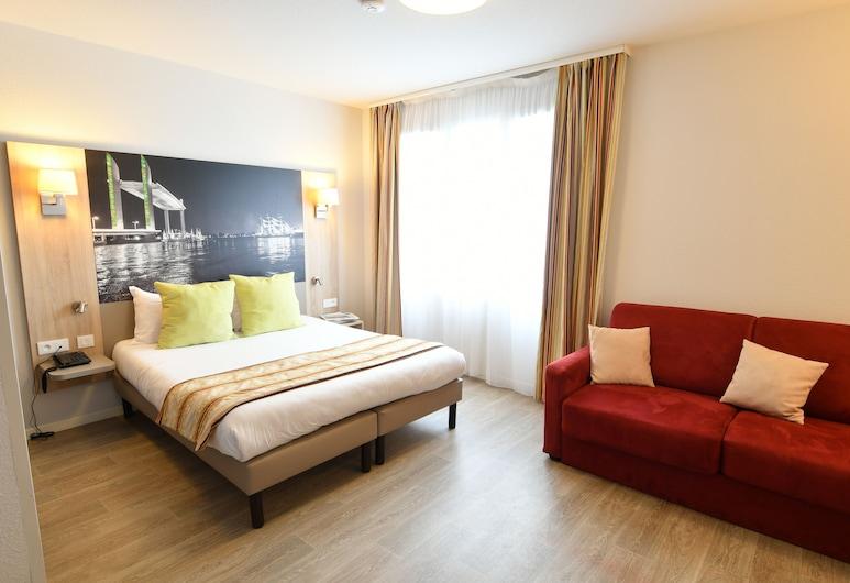 Appart-Hôtel Mer & Golf City Bordeaux Bassins à flot, Bordeaux, Studio Confort, Chambre