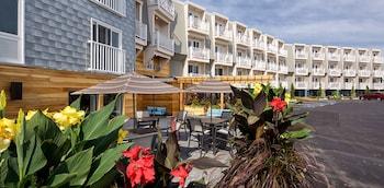 Mynd af Rockland Harbor Hotel í Rockland