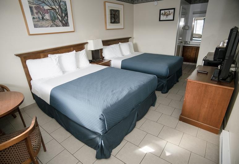 PACIFIC INN, Crescent City, Kambarys, 2 didelės dvigulės lovos, Svečių kambarys
