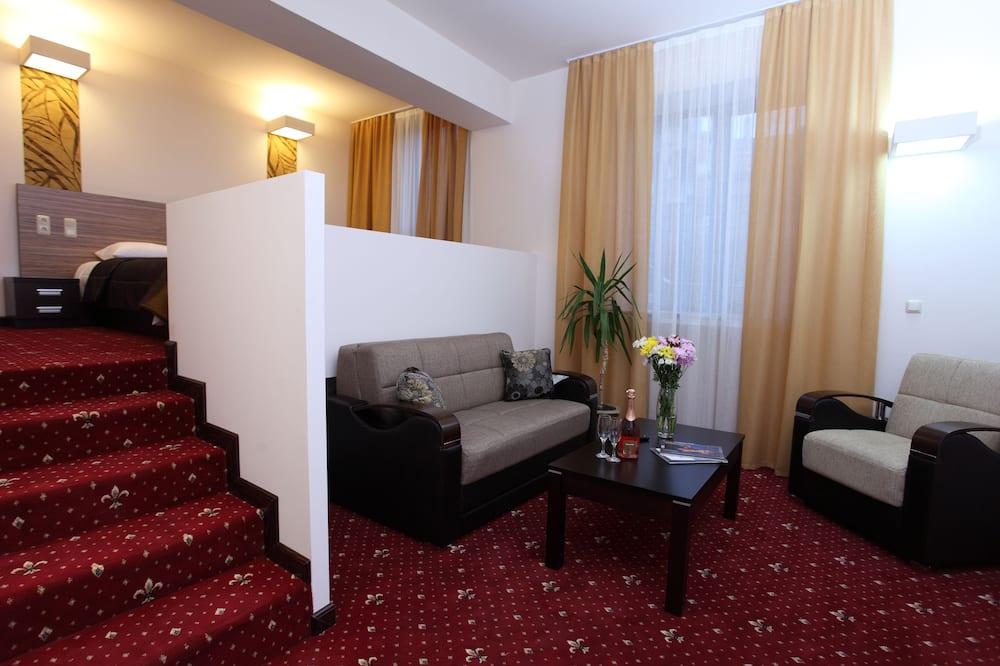 Executive Suite, 1 Bedroom - Ruang Tamu