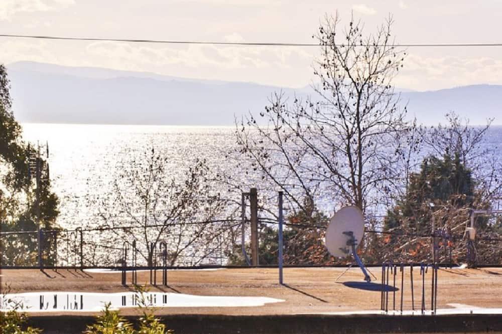 家庭開放式客房, 部分海景 - 露台