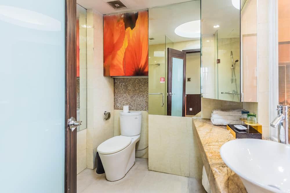 Liukso klasės kambarys, 1 standartinė dvigulė lova (Distant View) - Vonios kambarys