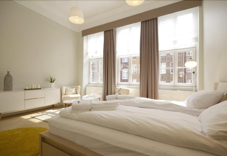 دوم آند هاوس - أبارتمنتس دلوغا  غدانسك, دانسك, شقة - غرفة نوم واحدة - بمطبخ مصغر - منظر للمدينة, الغرفة