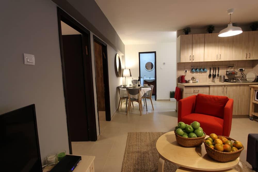 Rodinný apartmán, 2 spálne - Obývacie priestory