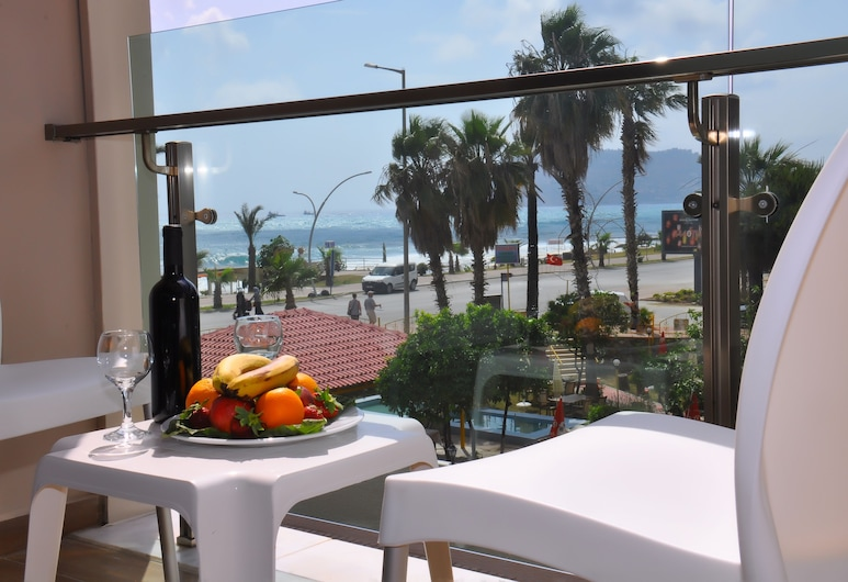 Grand Bayar Beach Hotel - All Inclusive, Alanya, Standardní pokoj, Balkón