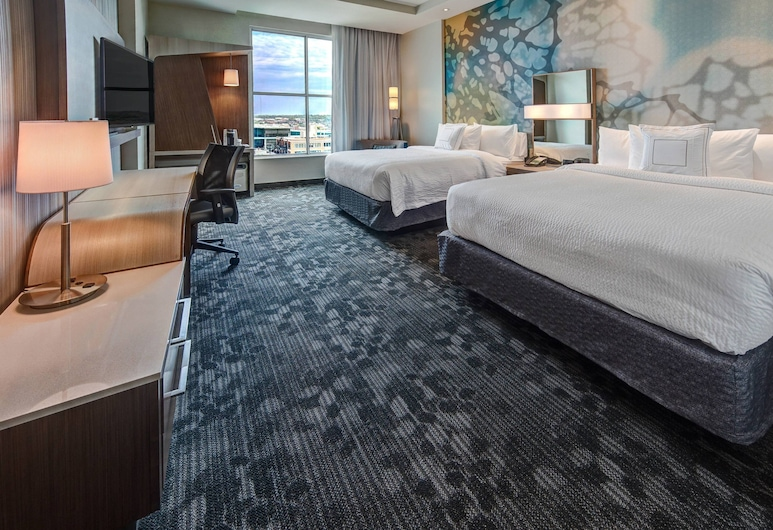 Courtyard by Marriott Kansas City Downtown/Convention Center, Kansas City, Chambre, 2 grands lits, Chambre