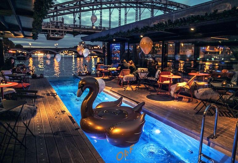 巴黎塞納河畔酒店, 巴黎, 池畔酒吧