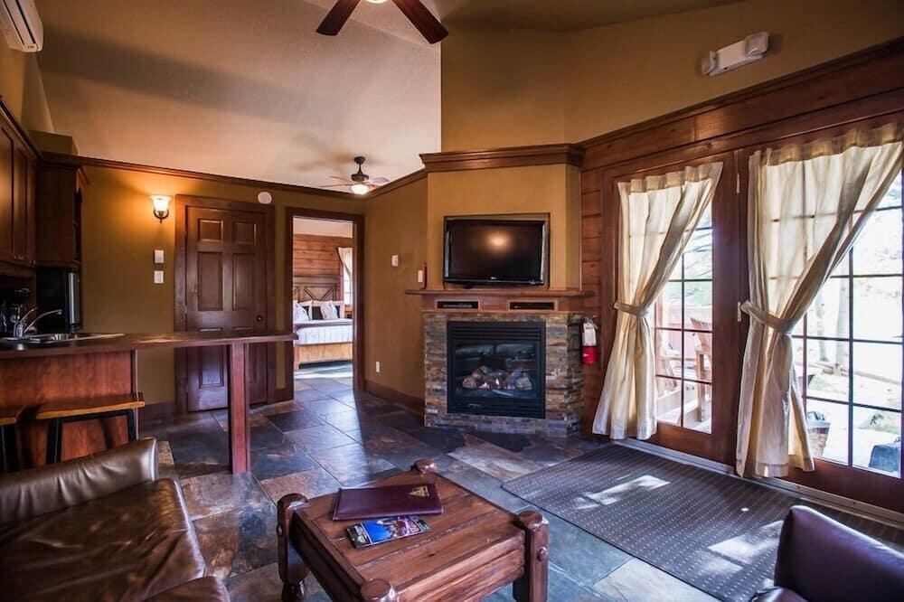 Cottage Deluxe (Spa) - Salle de séjour