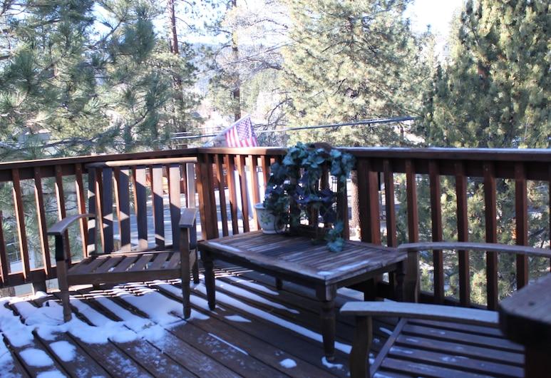 Mote's Vacation Home Retreat, Danau Big Bear , Beranda